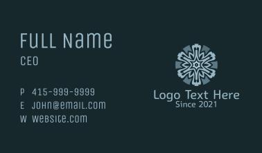 Baroque  Centerpiece Pattern Business Card