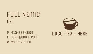Coffee Bean Beverage Business Card