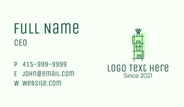 Minimalist Homeware Shelf Business Card