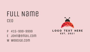 Ladybug Peak  Business Card