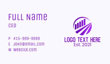 Stock Market Data  Business Card