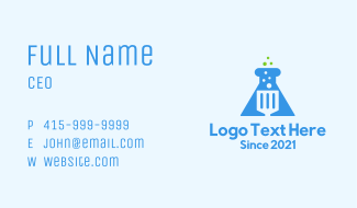 Lab Spatula Business Card