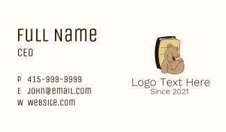 Teddy Bear Book Business Card