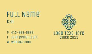 Blue Spiral Telecom Business Card