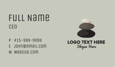 Stone Stack Therapy Business Card