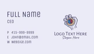 Bagua Yin Yang Pendant  Business Card