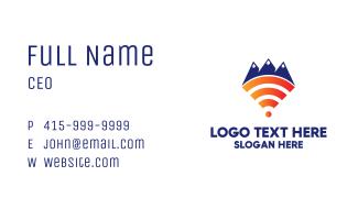 Mountain Wi-Fi Business Card
