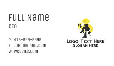 Lemon Banana Rockstar  Business Card