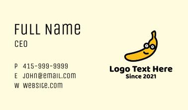 Banana Mascot Business Card