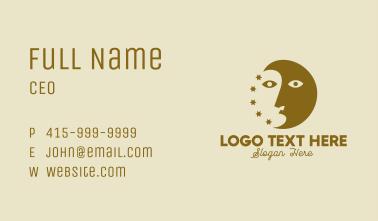 Astrology Face  Business Card