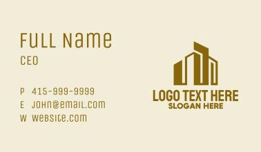 Urban Cityscape  Business Card