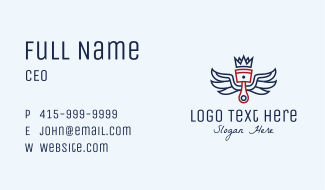Royal Piston Wings Business Card