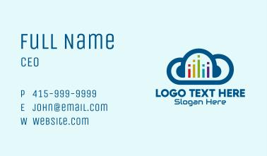 Digital Music Cloud  Business Card