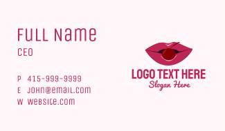 Cherry Lips  Business Card