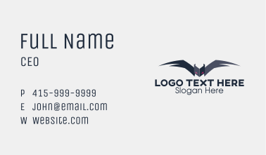 Scary Bat  Business Card