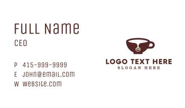 Coffee Bean Spill Business Card