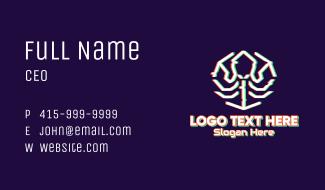 Static Kraken Gaming Business Card