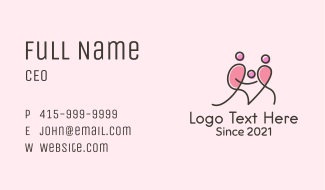 Family Planning Care  Business Card