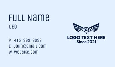 Wing Eye Surveillance  Business Card