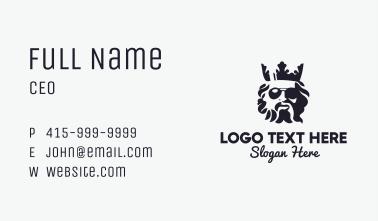 Greek God Royal Eyewear Business Card