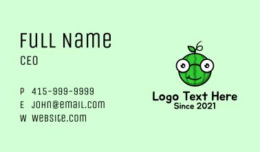 Watermelon Glasses Mascot  Business Card
