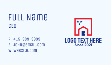 Patriot House Realty  Business Card