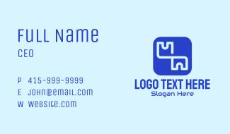 Key Password App  Business Card