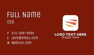 Triangle Logistics Service  Business Card