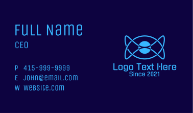 Blue Sphere Technology Business Card