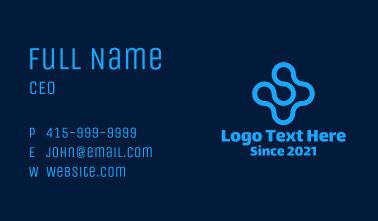 Liquid Blue Cross Business Card