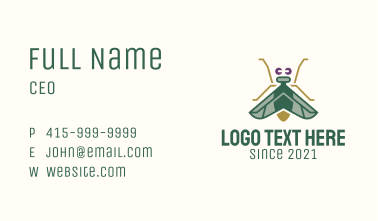 Garden Insect  Business Card