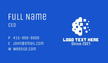 Digital Cloud Tech Business Card
