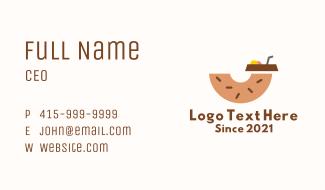 Donut Dessert Drink  Business Card