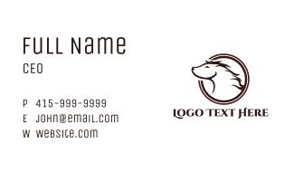 Wild Hyena Business Card