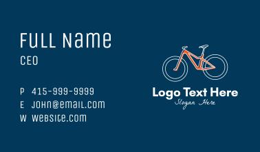 Cycling Sports Club  Business Card