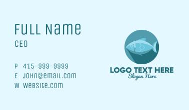 Tuna Fish Business Card
