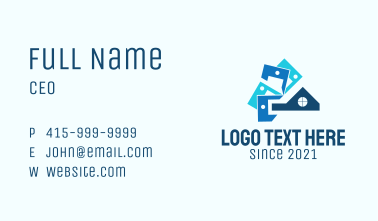Home Property Renovation Business Card