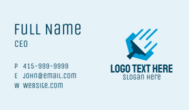 Modern Cleaning Squeegee Business Card