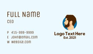 Gentleman Icon Business Card
