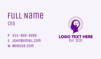 Time Awareness Business Card