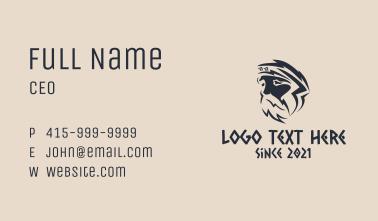 Greek God Mythology Business Card