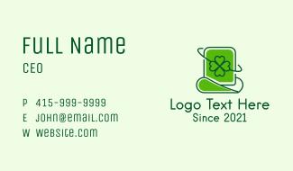 Saint Patrick Day Hat Business Card