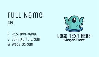 Cyclops Sea Monster Business Card