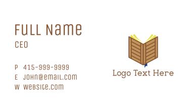 Crate Book Business Card