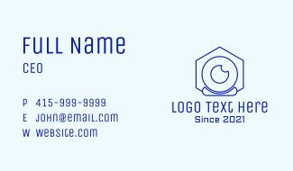 Digital Webcam Outline  Business Card