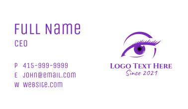 Beauty Aesthetician Eye  Business Card