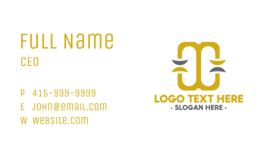 Double Scale Business Card