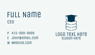Blue Book Graduate  Business Card