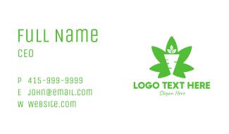 Cannabis Carrot Business Card