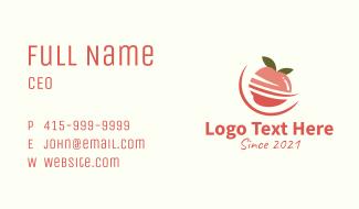 Organic Apple Fruit  Business Card